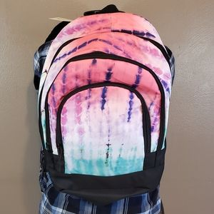 🆕️Jetstream Multi Color Tie Dye Laptop Backpack
